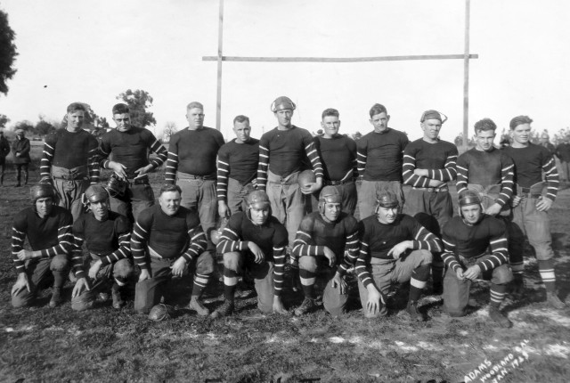 American Legion Post 77 Football Team, Woodland, California, 1923