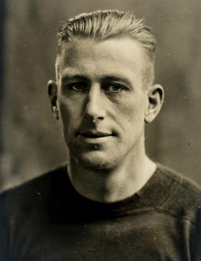"""Colby E. """"Babe"""" Slater, 1924."""