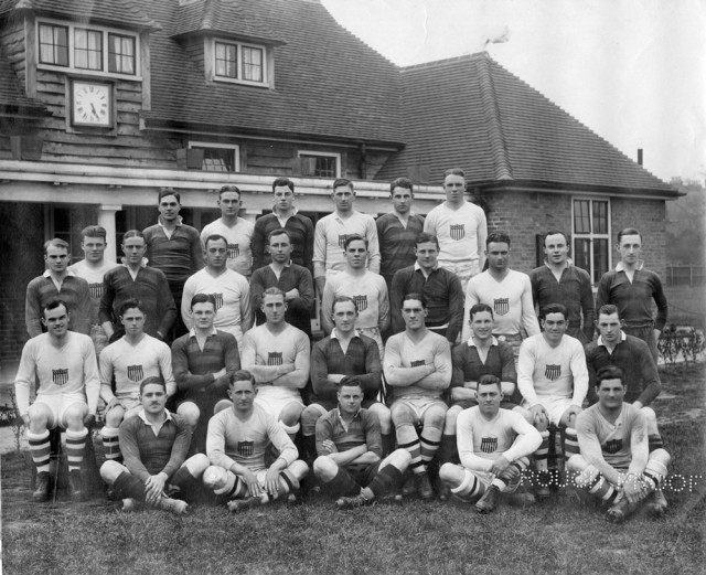 United States Rugby Team and Black Shirts of England